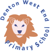 Denton West End Primary School logo