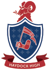 Haydock High School logo
