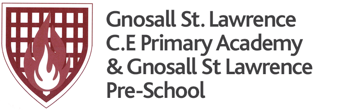 Gnosall St Lawrence Coe Primary Academy, Stafford logo