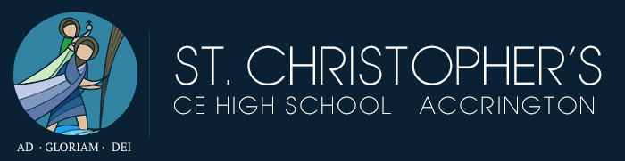 Accrington St Christopher's  High School logo