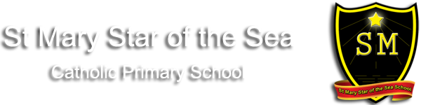St Mary Star of the Sea  Primary School logo